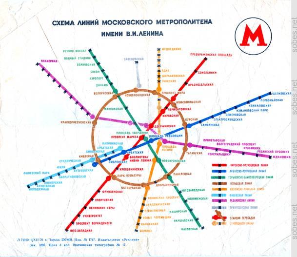Схема московского метрополитена 1935 года что изменилось